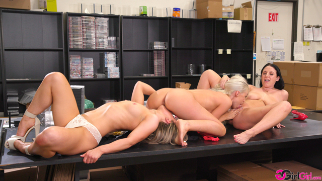 Getting Caught At The Office - Angela White, Lyra Law, Kate Kennedy